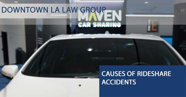 Causes of Rideshare Accidents