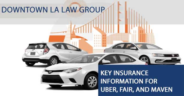 Key Insurance Information for Uber, Fair, and Maven