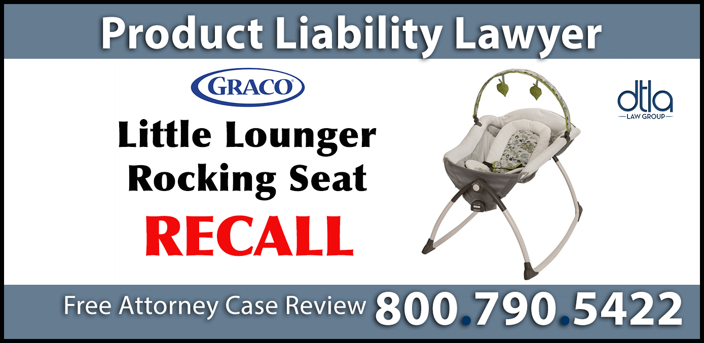 little lounger rocking seat recall suffocation hazard product liability lawyer