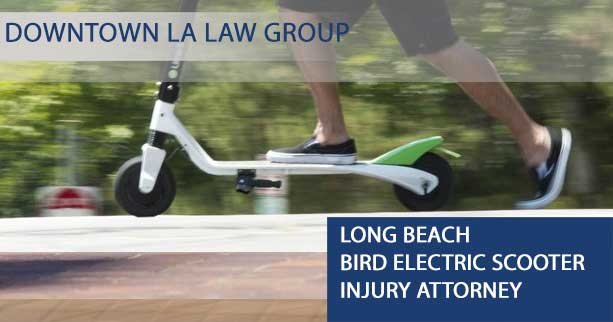Long Beach Bird Electric Scooter Injury Attorney