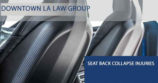 Seat Back Collapse Litigation - Seatback Collapse Injuries