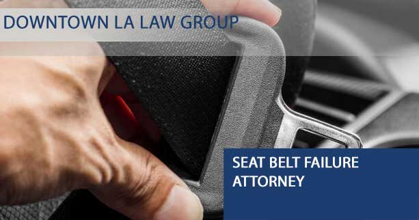 Seat belt failure attorney