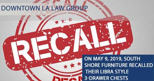 South Shore Furniture Recalls Drawer Chest Due to Hazard