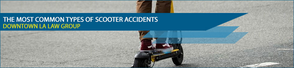 The Most Common Types of Scooter Accidents