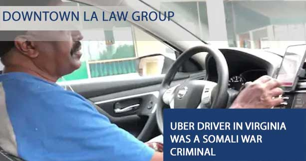 Uber Driver in Virginia was a Somali War Criminal
