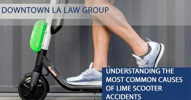 Understanding the Most Common Causes of Lime Scooter Accidents