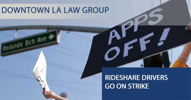 Why Uber and Lyft drivers are striking