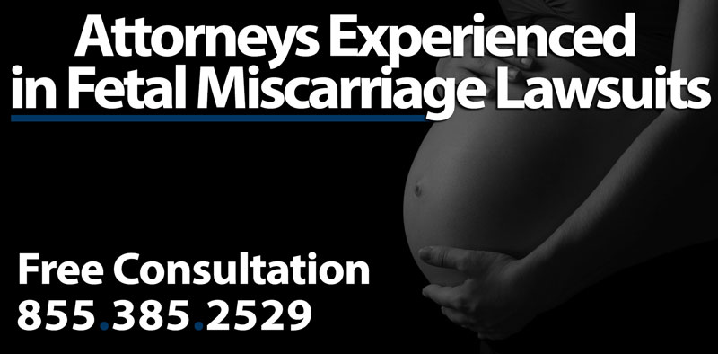 Miscarriage Caused by Slip and Fall Accidents - Loss of Pregnancy