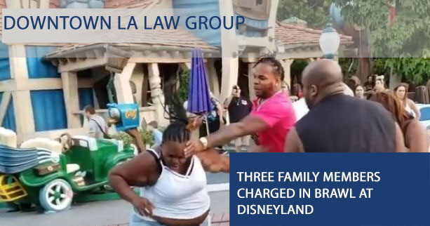 Suspects Charged for Brawl at Disneyland's Toontown