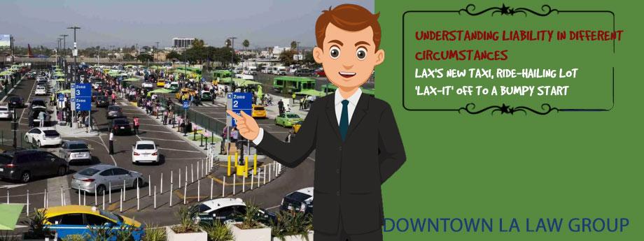 LAX's new taxi, ride-hailing lot 'LAX-it' off to a bumpy start