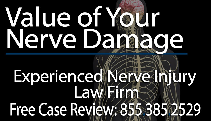 How Much is a Nerve Damage Case Worth