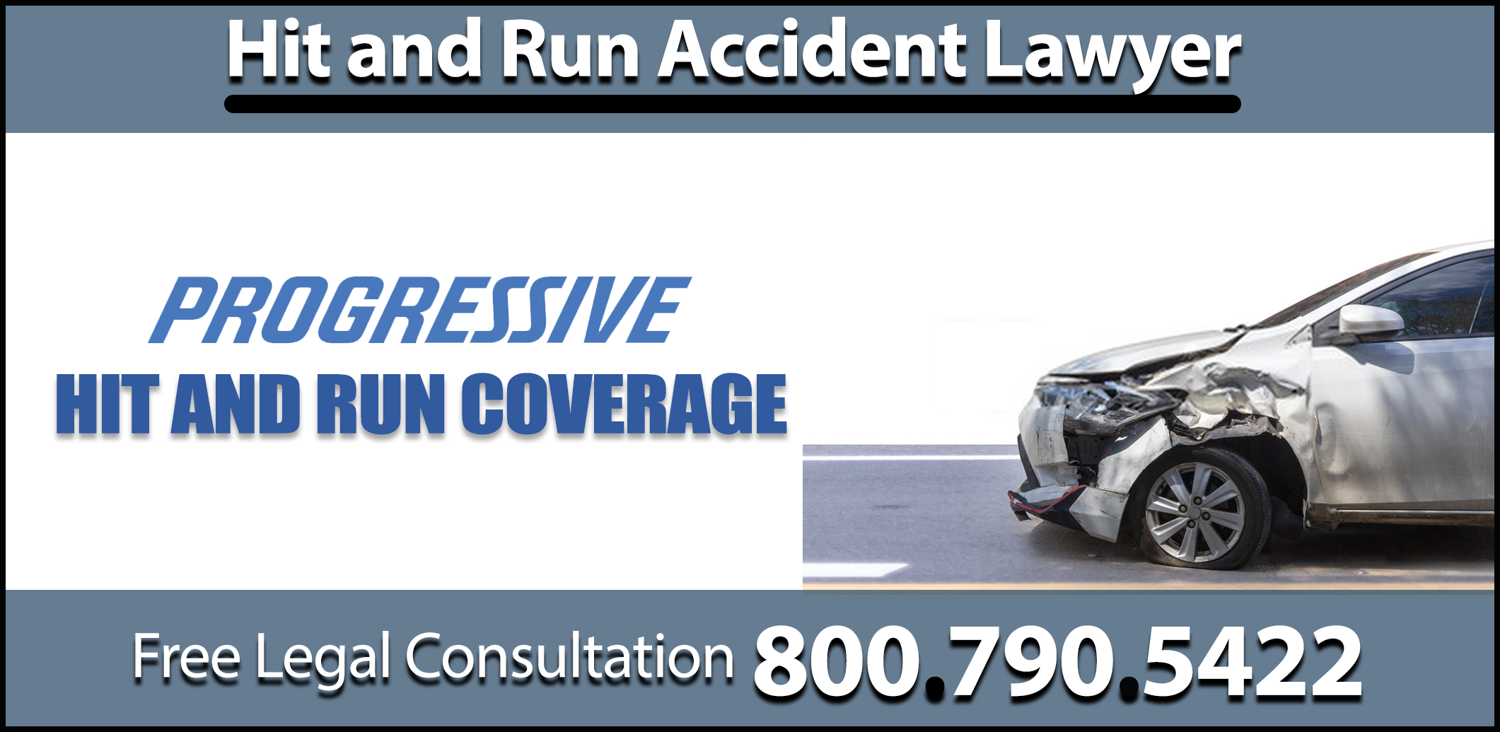 progressive hit and run insurance collision coverage medical personal injury attorney expenses compensation sue