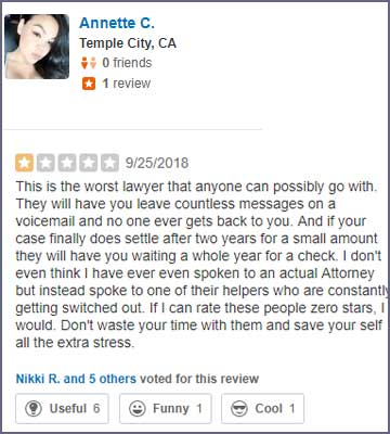 Jacob Emrani horrible reviews