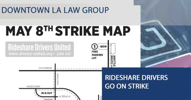 Rideshare Drivers Go On Strike