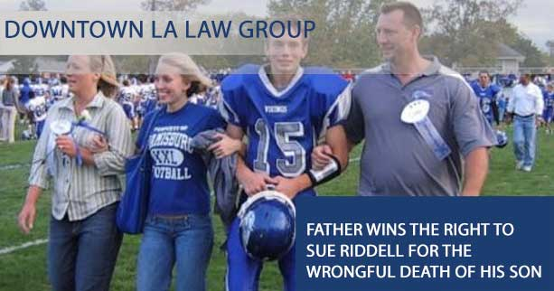 Father Wins the Right to Sue Riddell for the Wrongful Death of His Son