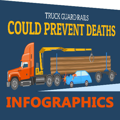 Infographics - What is the purpose of a truck underride guard?